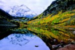 Autumn Reflections, Rocky Mountains