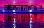 Cayocus Dock at Sunset