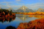 Fall Mountain Sunrise, Grand Tetons