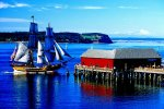 Lady Washington at Coupeville, Whidbey Island