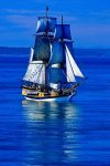 Lady Washington Sailing the Salish Sea