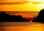 Sunrise on Deception Pass